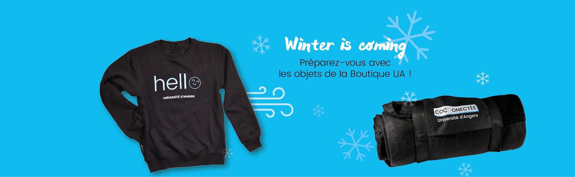 L'hiver arrive, équipez-vous !